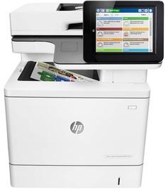 Многофункциональный принтер HP LaserJet Enterprise M577dn, лазерный, цветной