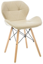 Ēdamistabas krēsls Signal Meble Matias Cappuccino, 1 gab.