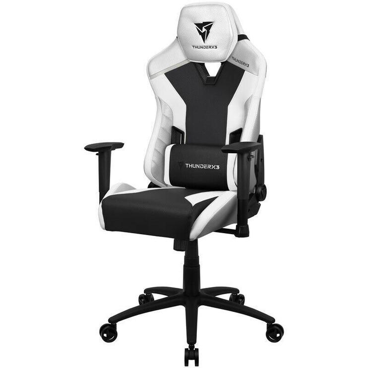 Spēļu krēsls Thunder X3 TC3, balta/melna