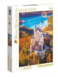 Пазл Clementoni High Quality Neuschwanstein, 1000 шт.