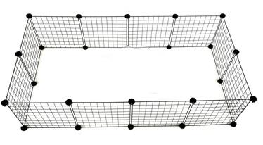 Защита C&C Modular Dog Kennel, 1450x370x750 мм