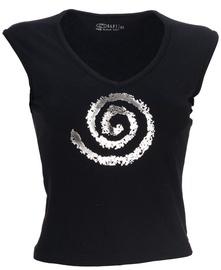 Bars Womens Shirt Black 128 M