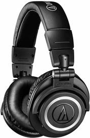 Austiņas Audio-Technica ATH-M50XBT Black, bezvadu
