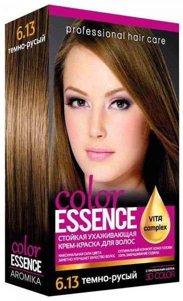 Aromat Cream Hair Dye Aromika Color Essence 6.13