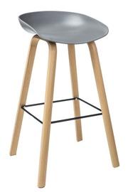 Bāra krēsls Signal Meble Sting Grey