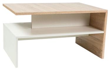 Kafijas galdiņš Signal Meble Frida Sonoma Oak, 900x600x500 mm