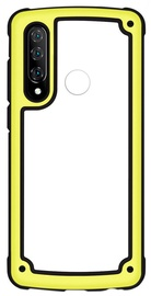 Hurtel Solid Frame With Bumper For Huawei P30 Lite Yellow