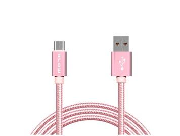 Vads Blow, USB 2.0 / Micro USB 2.0, rozā
