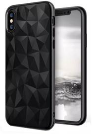Blun 3D Prism Shape Back Case For Xiaomi Redmi S2 Black