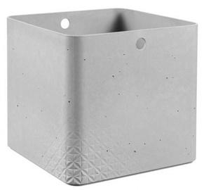 Curver Beton Box Cube XL 18l Grey