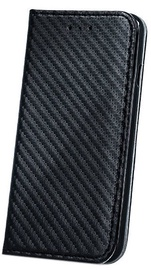 Mocco Smart Carbon Book Case For Apple iPhone X Black