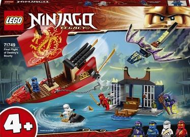 Konstruktors LEGO Ninjago Likteņa balvas pēdējais reiss 71749, 147 gab.