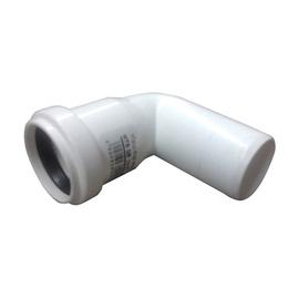 Līkums iekšējais D40x87° balts PP (Magnaplast)