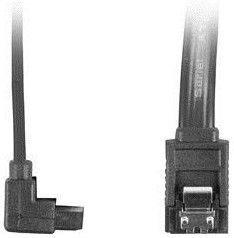 Lanberg SATA To SATA 6 Gb/s Angled Black 0.3m