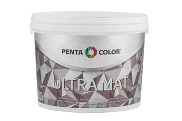 Krāsa Pentacolor Ultra Mat, 10 l, balta