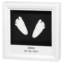 Baby Art Window Sculpture Frame Black/White