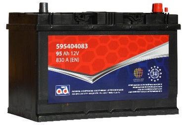 Akumulators AD BALTIC 595404083, 12 V, 95 Ah, 830 A