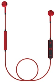 Austiņas Energy Sistem Earphones 1 Bluetooth Red, bezvadu