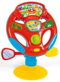 Interaktīva rotaļlieta Clementoni Baby Turn And Drive Activity Wheel 17241