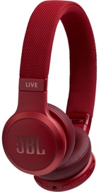 Наушники JBL JBLLIVE400BTRED Red, беспроводные