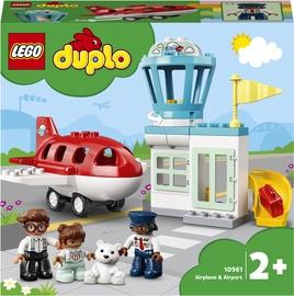 Конструктор LEGO DUPLO Town Самолет и аэропорт 10961, 28 шт.