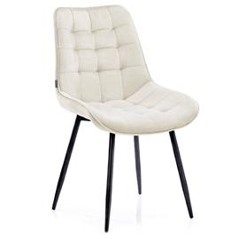 Ēdamistabas krēsls Homede Algate, bēša, 4 gab.