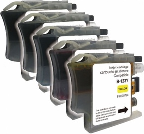 Uprint Cartridge for Brother 2x 17ml Black Yellow 10ml Cyan 10ml Magenta 10ml