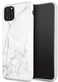 Guess Marble Back Case For Apple iPhone 11 Pro Max White