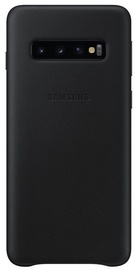Samsung Leather Cover For Samsung Galaxy S10 Black