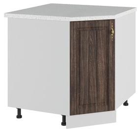 DSV Imperia SU 1000 Kitchen Bottom Corner Cabinet Walnut