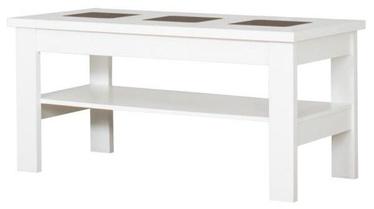 Kafijas galdiņš Bodzio S29 White, 1200x600x590 mm