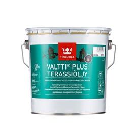 Eļļa terasēm Valtti plus terassiö melna 2,7 (tikkurila)