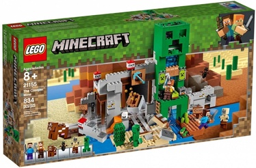 Конструктор LEGO Minecraft The Creeper Mine 21155 21155, 834 шт.