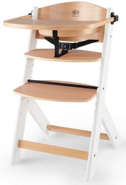 KinderKraft Enock Feeding Chair Wood/White
