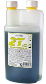 AutoDuals 2T-mix Semi-Synthetic Oil with Dosator Green 1l