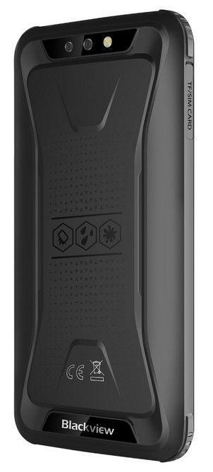 Mobilais telefons Blackview BV5500 Plus, melna, 3GB/32GB
