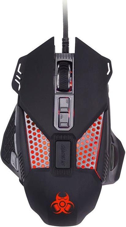 Игровая мышь Tracer Gamezone Scarab Black, проводная, оптическая