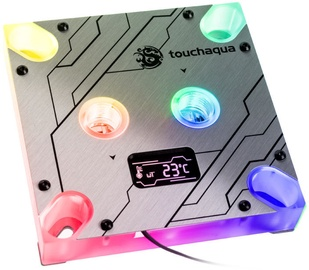 BitsPower Touchaqua CPU Block Summit MS (Intel) OLED