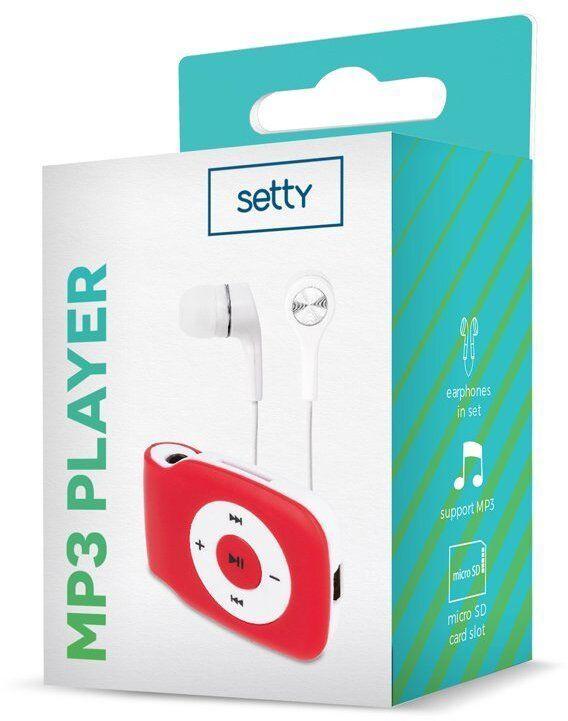 Mūzikas atskaņotājs Setty V2 Super Compact Red, - GB