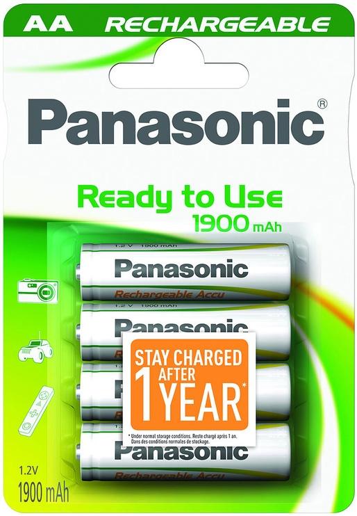 Panasonic Evolta P-6E rechargeable battery 4 x AA 1900mAh