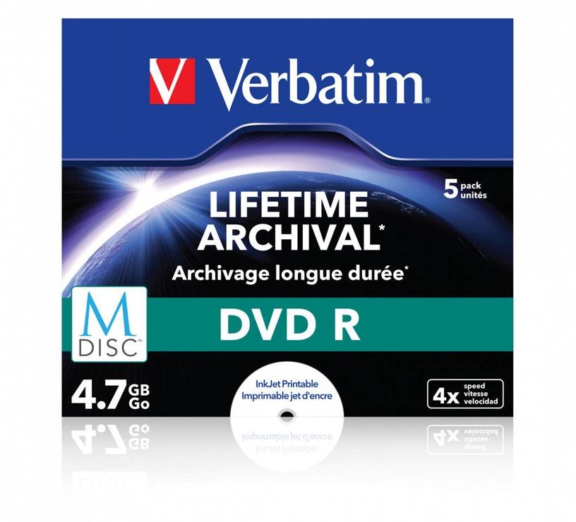 Verbatim MDISC DVD-R 4.7GB 5-Pack