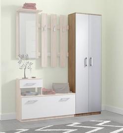 WIPMEB Estera Hallway Wardrobe Sonoma Oak/White