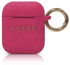 Guess Protection Case For Apple AirPods Pink