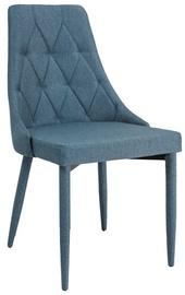 Ēdamistabas krēsls Signal Meble Trix Denim, 1 gab.