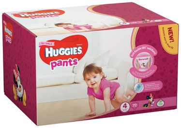 Huggies Pants Girl S4 72