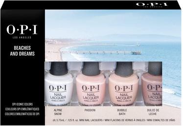 Nagu laka OPI Beaches & Dreams, 15 ml, 4 gab.