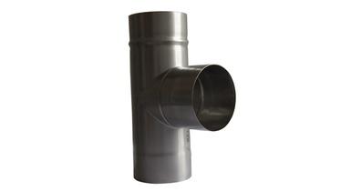 Ar trīs zariem Wadex 107 Chimney 3-Way Pipe 90° 120mm