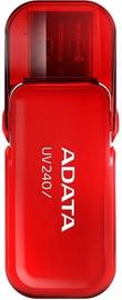 USB флеш-накопитель ADATA UV240 Red, USB 2.0, 16 GB