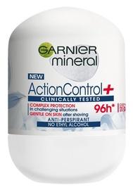 Dezodorants sievietēm Garnier Mineral Action Control+ 96h Anti Perspirant Roll On, 50 ml