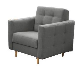 Atzveltnes krēsls Idzczak Meble Godivo Grey, 88x95x89 cm